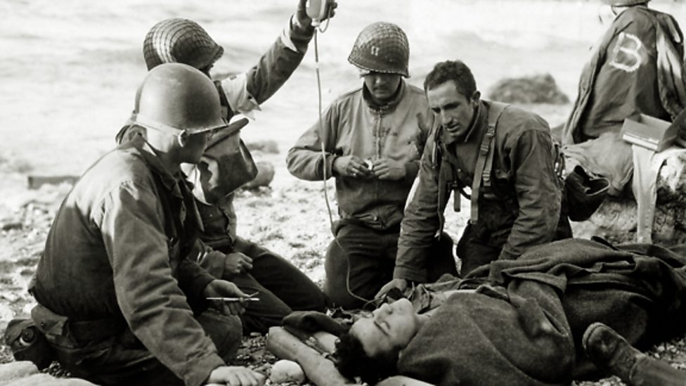 Wounded D-Day iWonder guide gallery