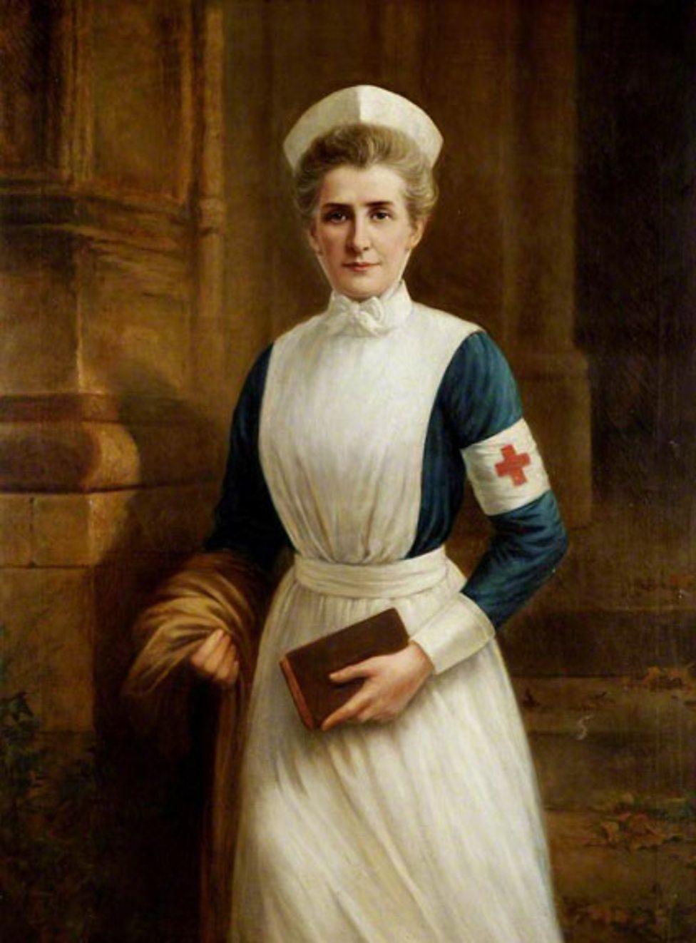 Nurse (1865–1915) by Raymond Lynde