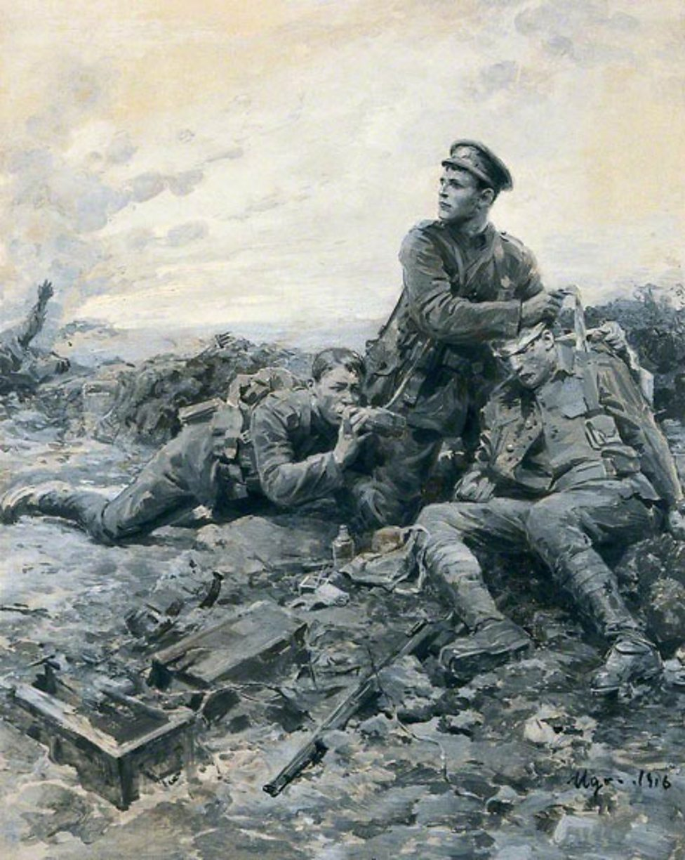 did the first world war represent During world war i, this beautiful phenomenon took place in a europe decimated  by the first truly modern war in belgium, which was home to.