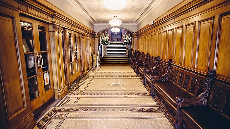 Vestibule of Glasgow's Trades House