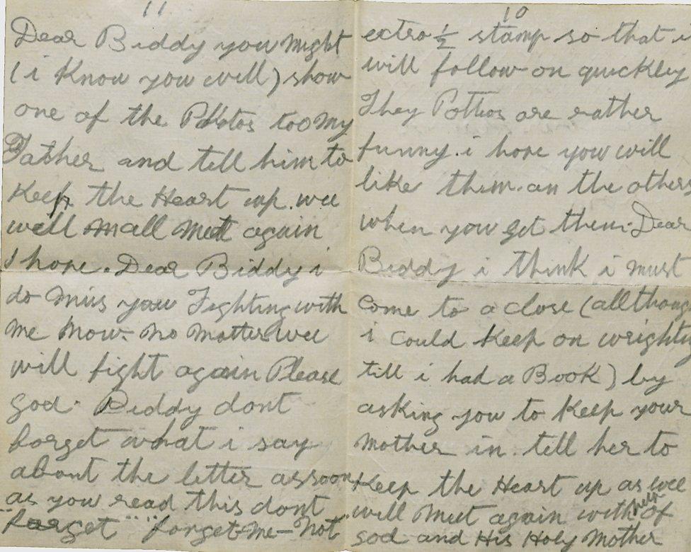 Jack Madden long part of letter