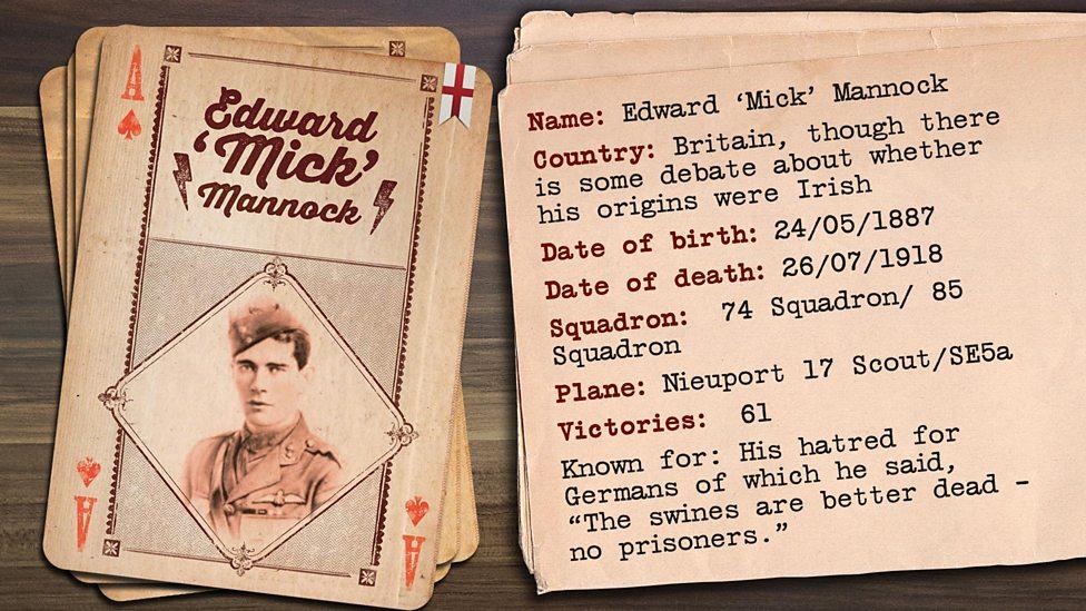 Edward 'Mick' Mannock