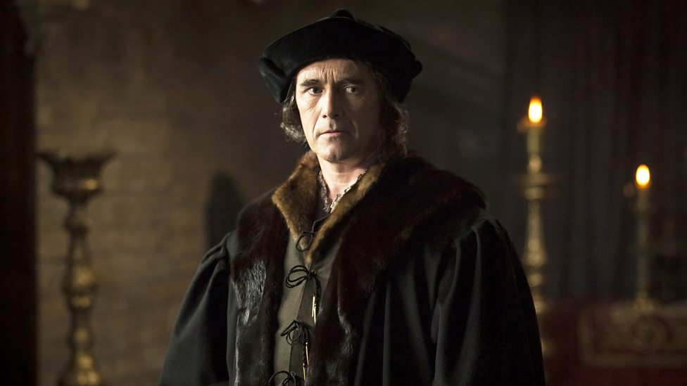The not unattractive Mark Rylance as a brooding Thomas Cromwell in the BBC Two adaptation of Wolf Hall