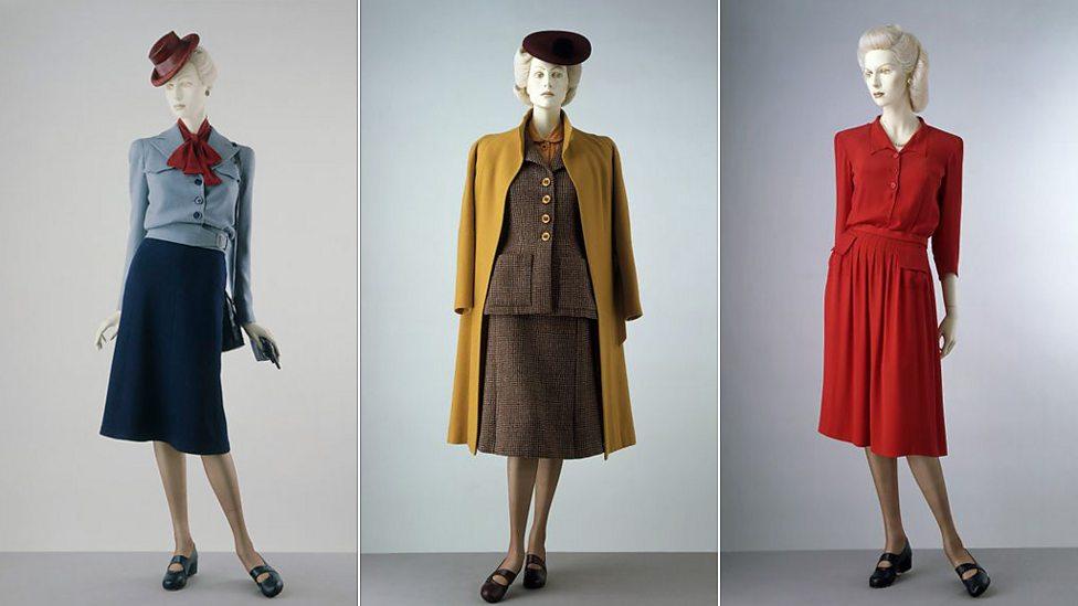 Wartime Womens Fashion