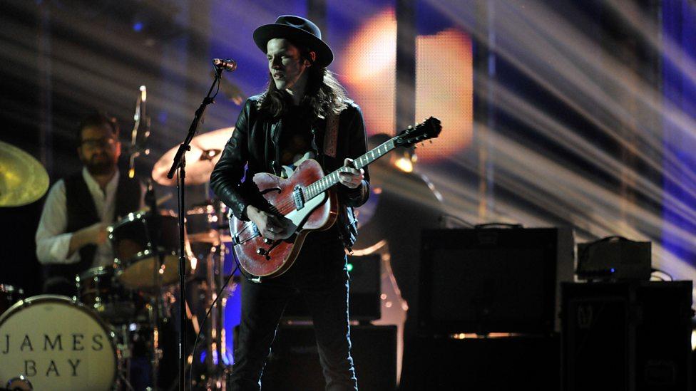 James Bay at BBC Music Awards 2015