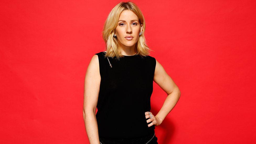 Ellie Goulding at BBC Music Awards 2015