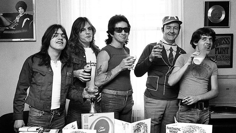 AC/DC in London, 1976