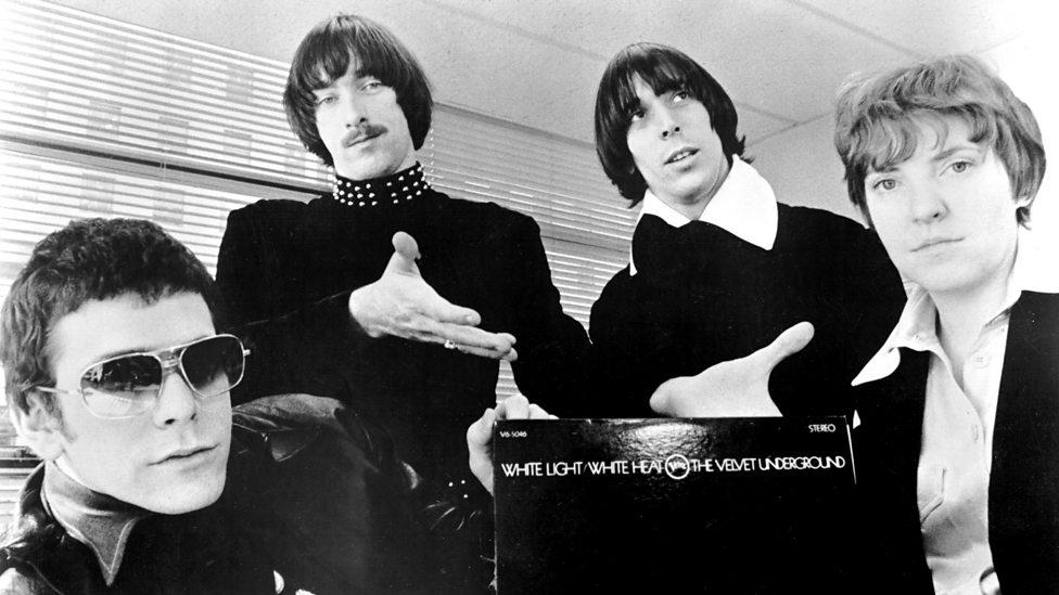 The Velvet Underground with Sterling Morrison (second left)