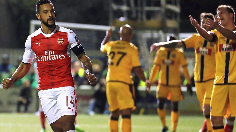 El Arsenal accede a los cuartos de final