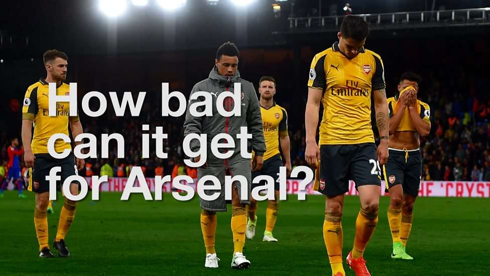 arsenal what is the gunners worst case scenario bbc sport