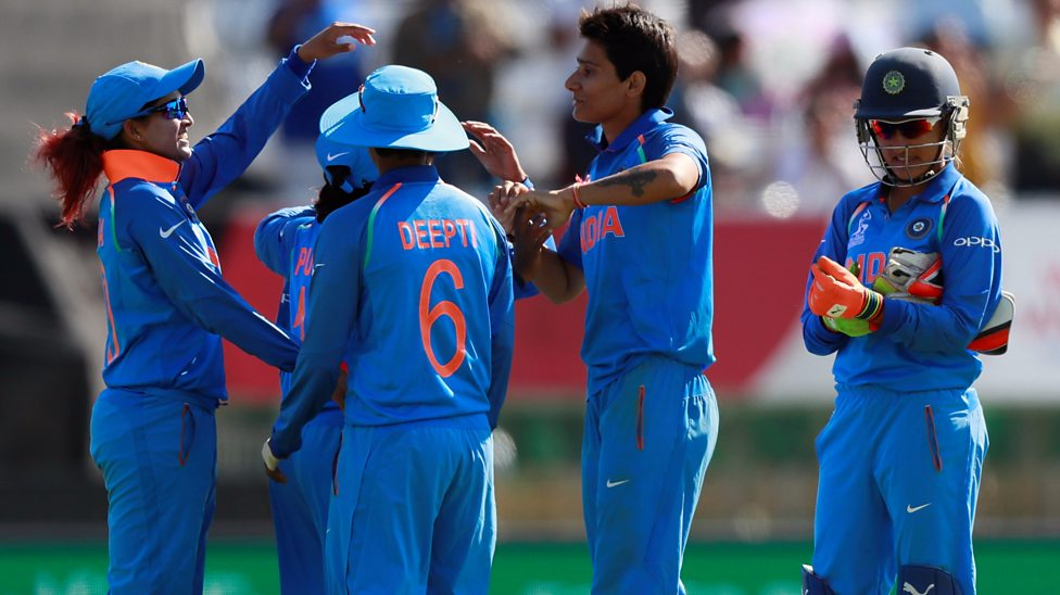 India vs Pakistan Women's World Cup 2017: India thrashes Pak by 95 runs