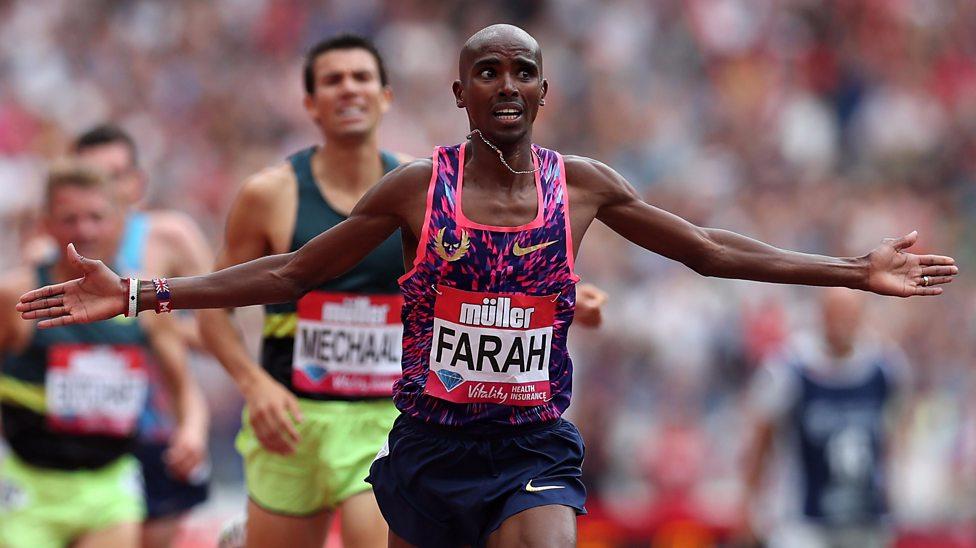 Olympic Champion, Sports, Mo Farah, Anniversary Games, London,