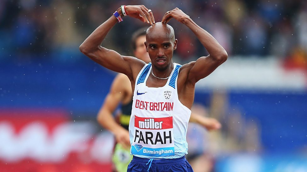 Image result for Farah wins final track race in Britain