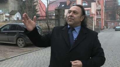Roman Kwiatkowski, the leader of Poland's Romani community
