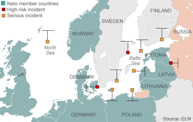 Russia Baltic military actions unprecedented  Poland  BBC News