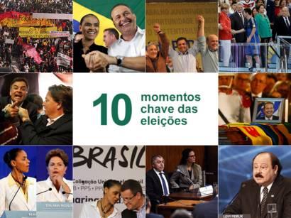 Dez momentos marcantes das eleições 2014