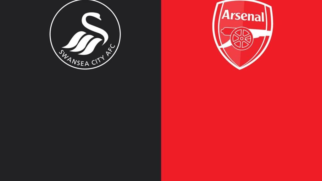 Resultado de imagem para Swansea vs arsenal