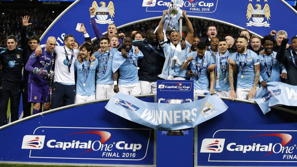 How Many Man City Won The Cup: League Cup Final: AET Liverpool 1-1 Man City, City Win 3-1
