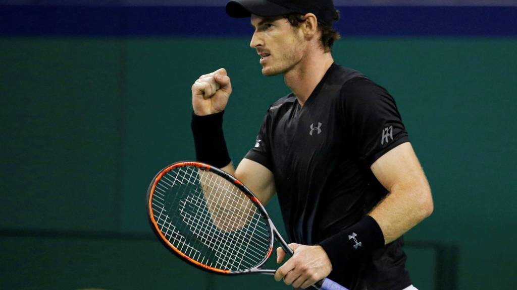 Andy Murray clinches his third Shanghai Masters title
