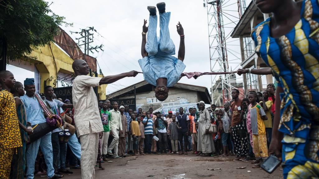 performer, osogbo