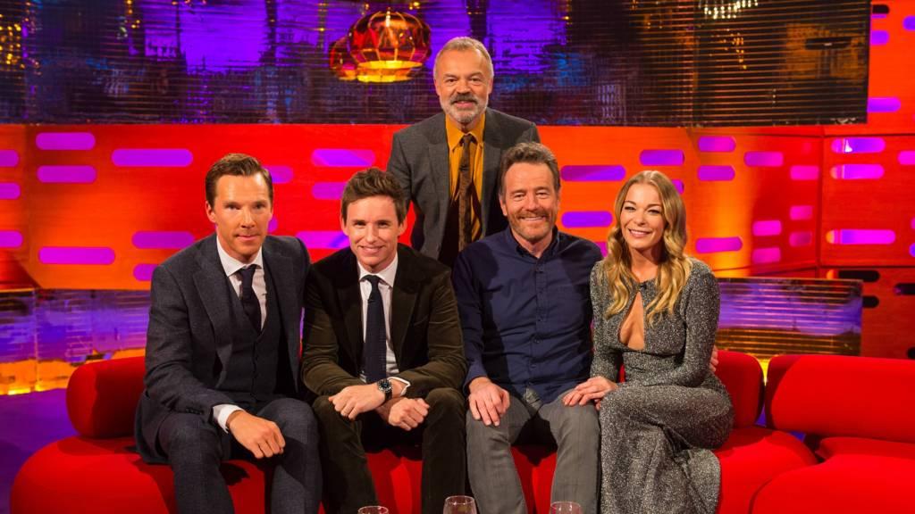 Benedict Cumberbatch reveals he married Judge Rinder - BBC Three