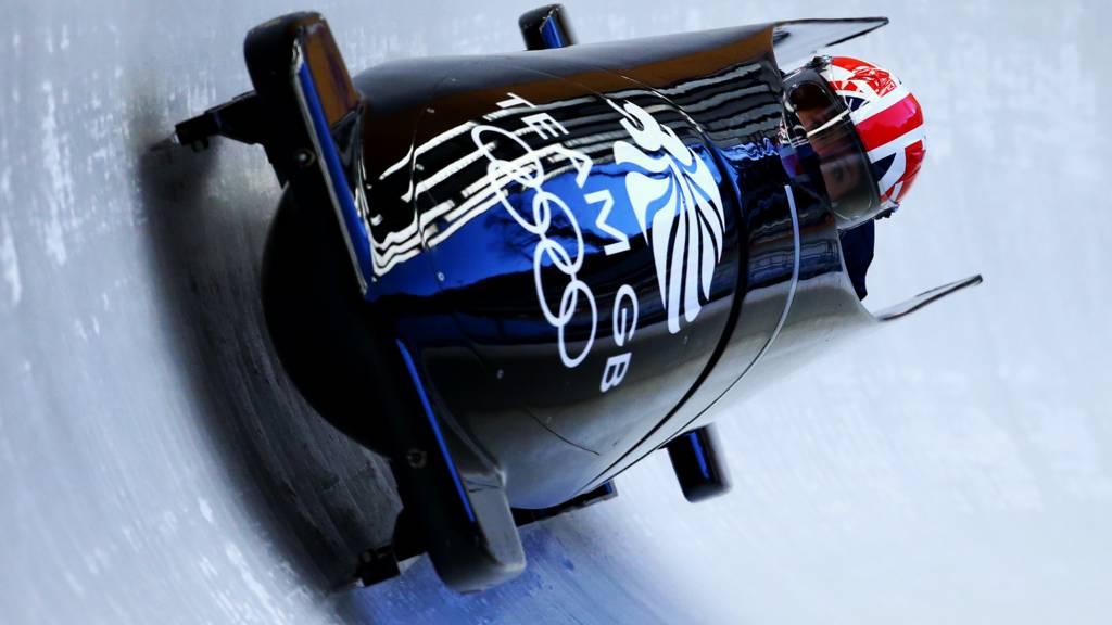 Team GB's women's bobsleigh team