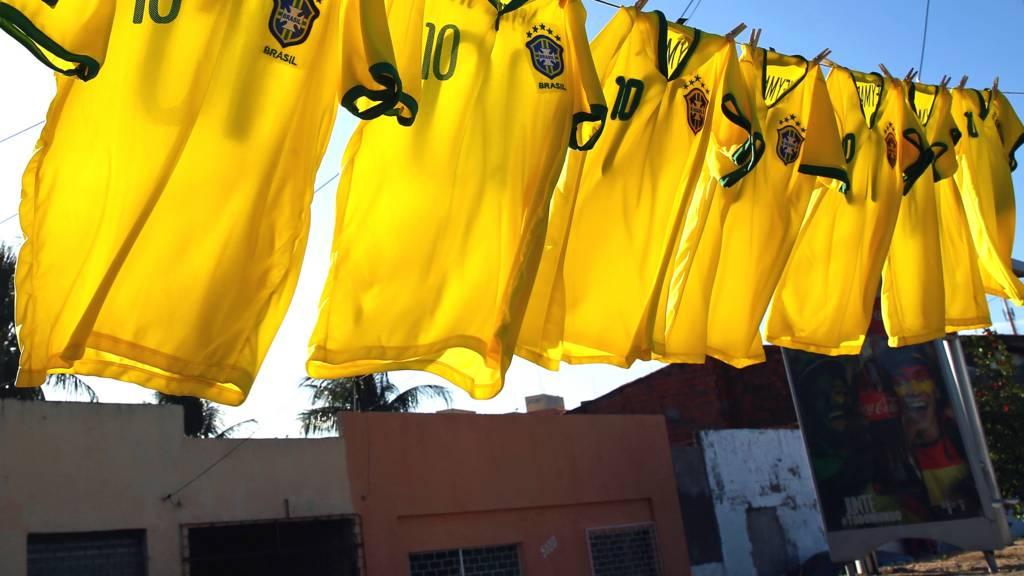 Brazil shirts on line