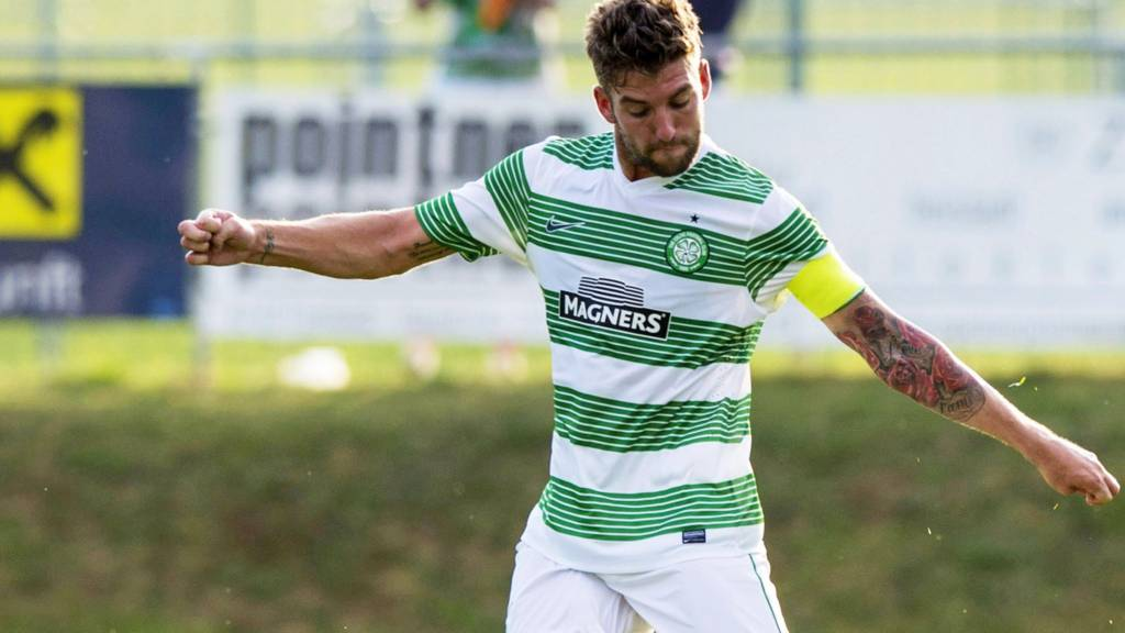 Celtic captain Charlie Mulgrew