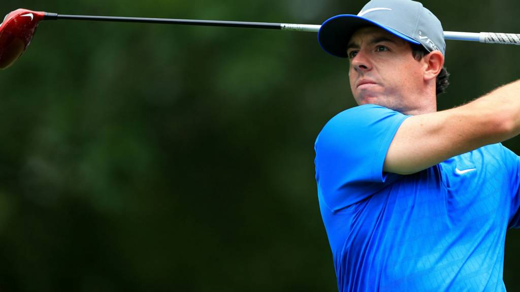 Rory McIlroy during the 3rd day of the US PGA