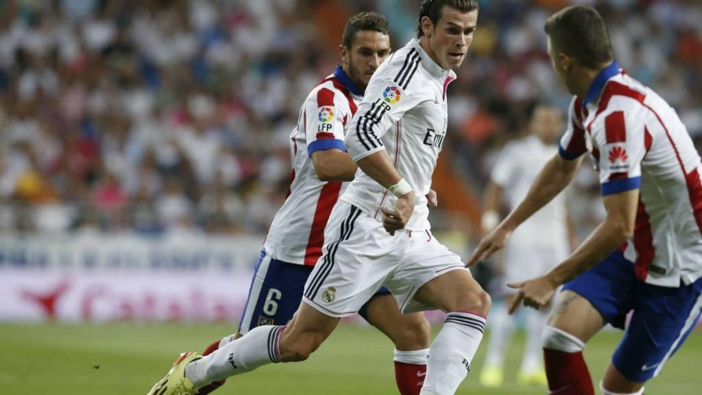 Gareth Bale, Koke, Guilherme Siqueira