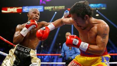 Floyd Mayweather Jr v Manny Pacquiao
