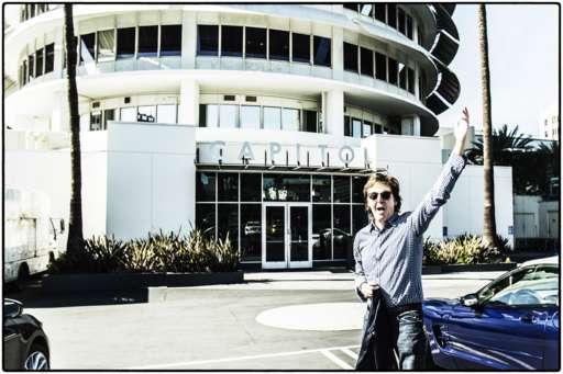 Sir Paul McCartney at Capitol Records