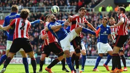 Sunderland v Leicester City