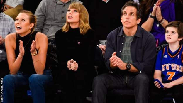 karlie kross, Taylor Swift and Ben Stiller