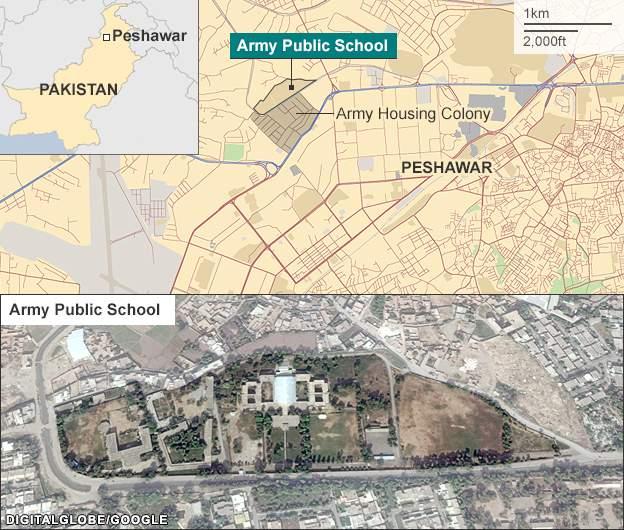 L'actualité vue par TSGE et ... Goolge Earth !  :) - Page 15 _79758196_pakistan_army_school_attack_624map
