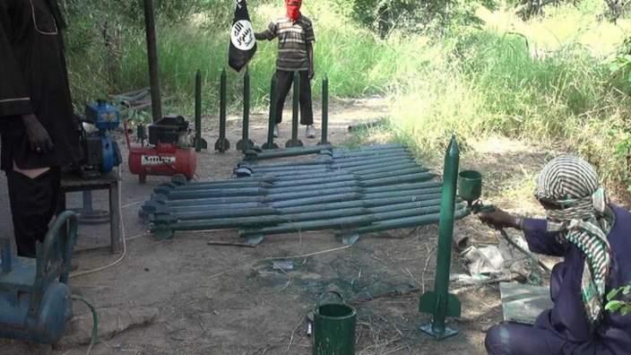 Boko Haram rocket making factory