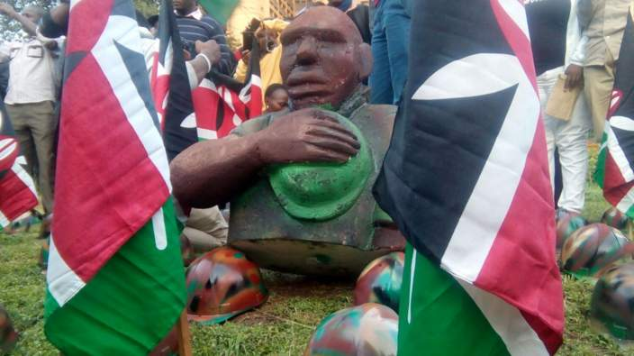 Vigil for Kenyan soldiers