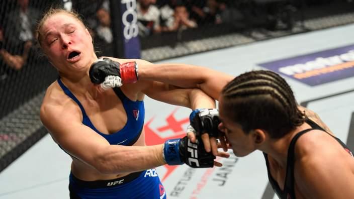 Amanda Nunes Rips Ronda Rousey's Coach After UFC 207 Destruction