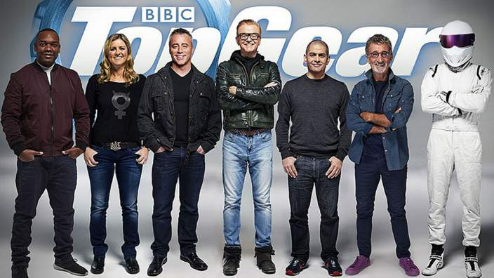 The new Top Gear line-up