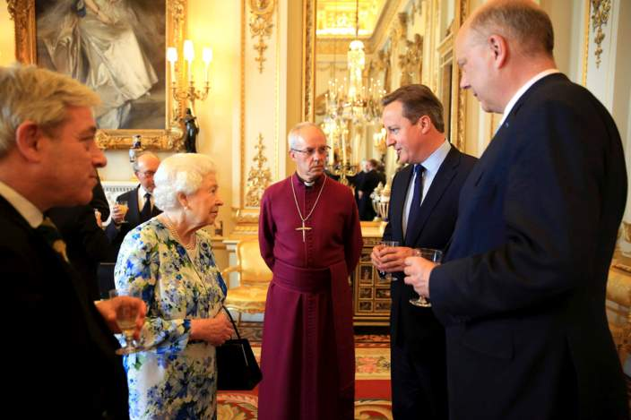 david cameron tells queen nigeria and afghanistan is corrupt