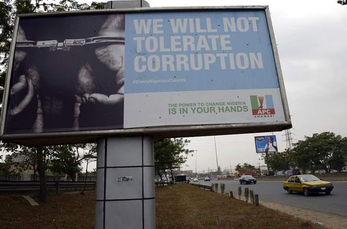 Nigeria wallow in corruption