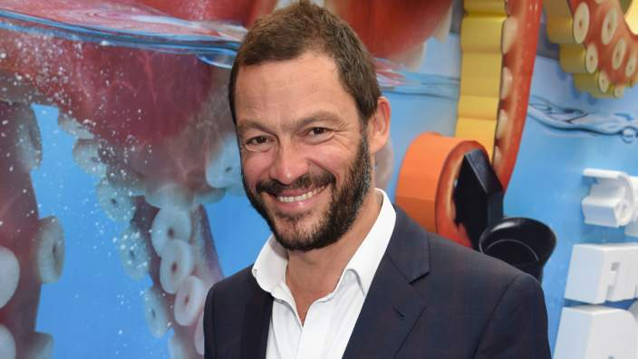 Dominic West at the Finding Dory premiere in London.