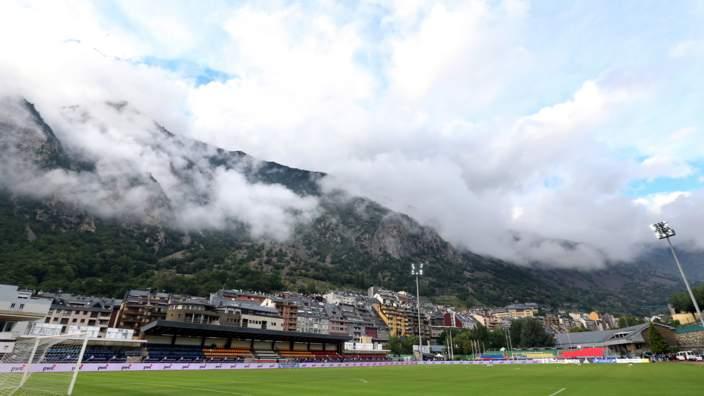 Estadi Comunal D'Andorra La Vella, World Cup qualifying 2014 - Andorra v Netherlands,
