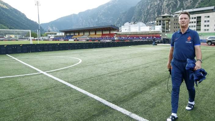 Louis Van Gaal, Estadi Comunal D'Andorra La Vella, World Cup qualifying 2014 - Andorra v Netherlands,