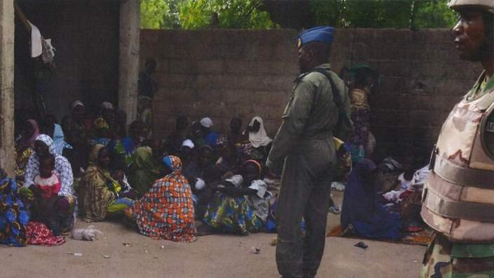 People freed from Boko Haram by Nigerian military