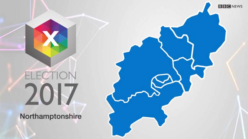 Kettering Parliamentary Constituency Election BBC News - Bbc election map us