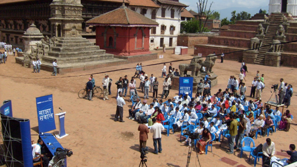 Sajha Sawal ('Common Questions') in pictures