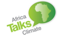 the logo for Africa Talks Climate