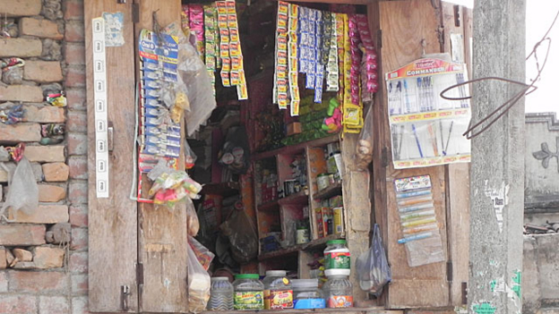 A remote village shop