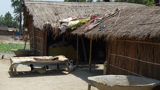 A typical Dalit village home